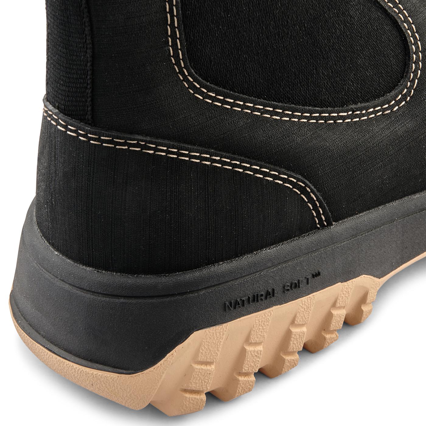 Woden Magda støvle, contrast black, 41