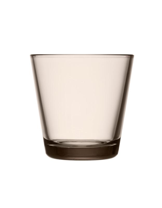 Iittala Kartio glas, 210 ml, linen, 2 stk