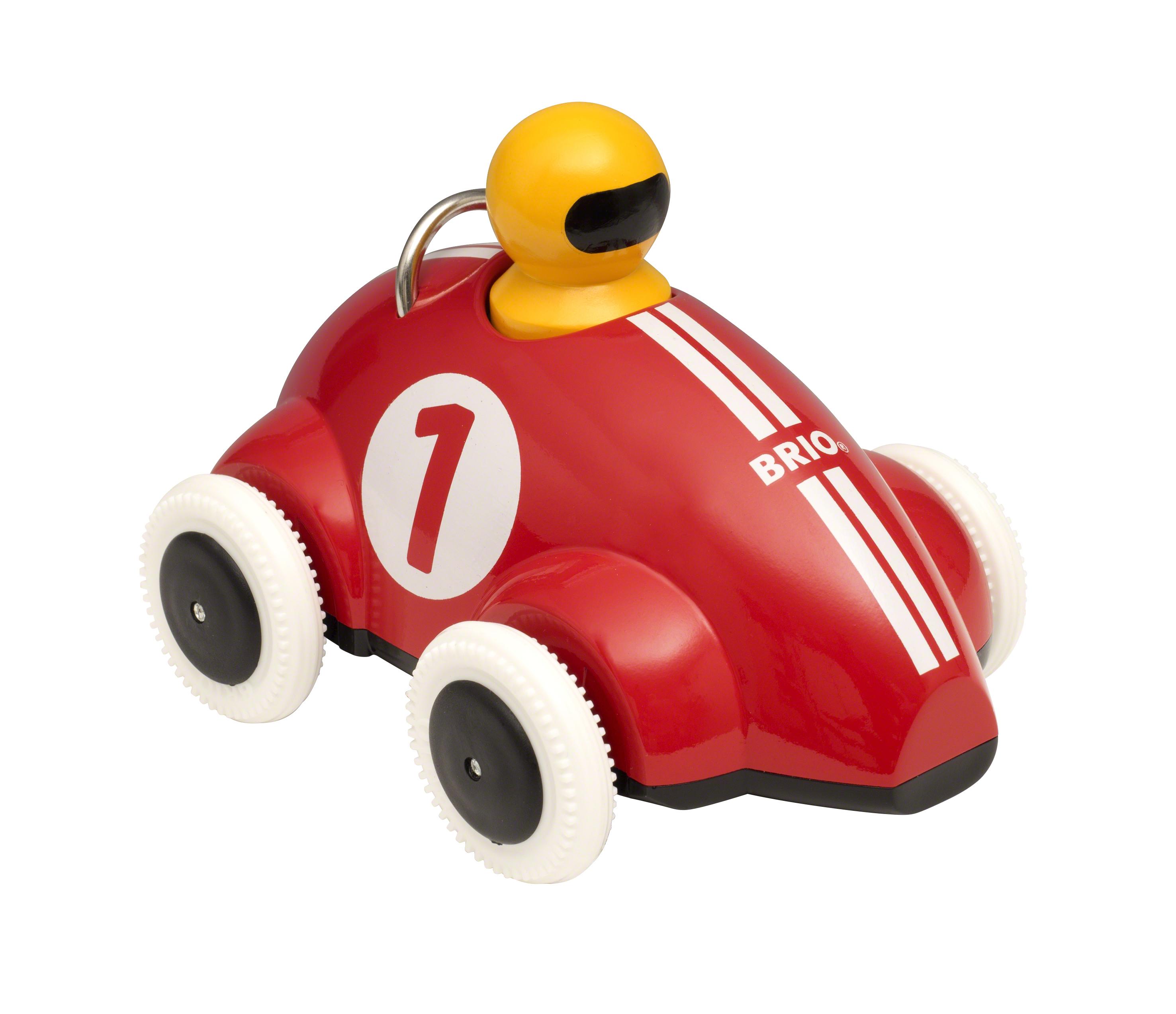 BRIO Push & Go racerbil, rød