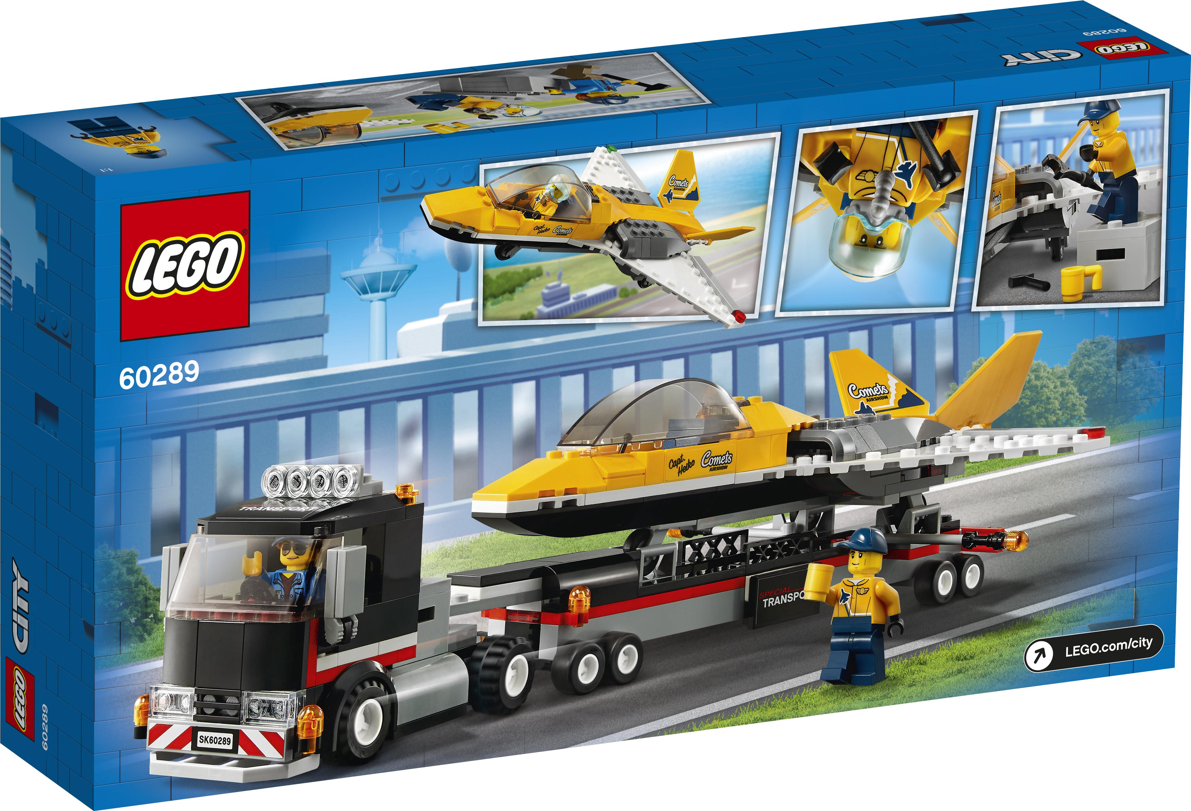 LEGO City Luftshowjet-transporter - 60289