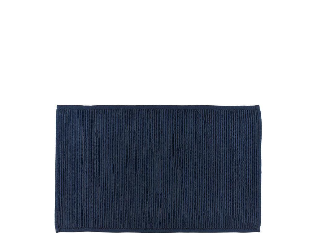 Södahl Plissé bademåtte, 50x80 cm, indigo