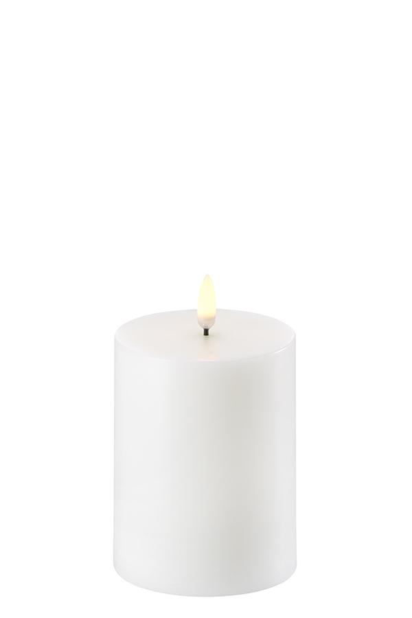 Uyuni LED bloklys, 8x10 cm, nordic hvid