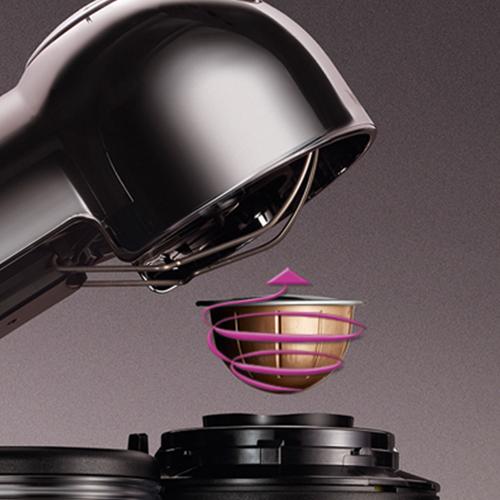 Nespresso® Vertuo GCA1 kaffemaskine, black