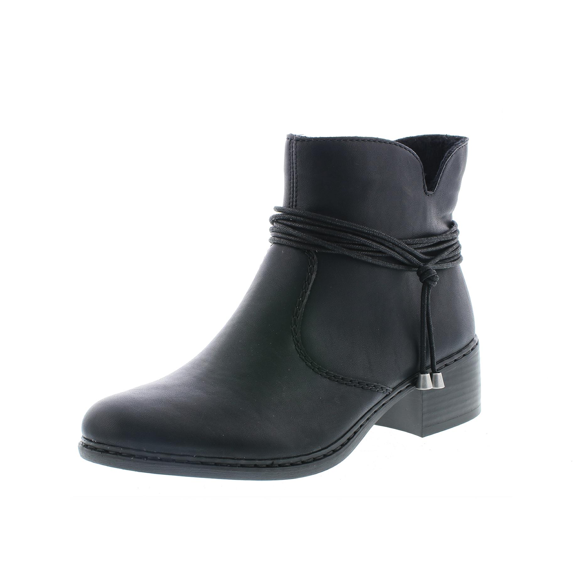 Rieker 77658-00 støvle, sort, 38