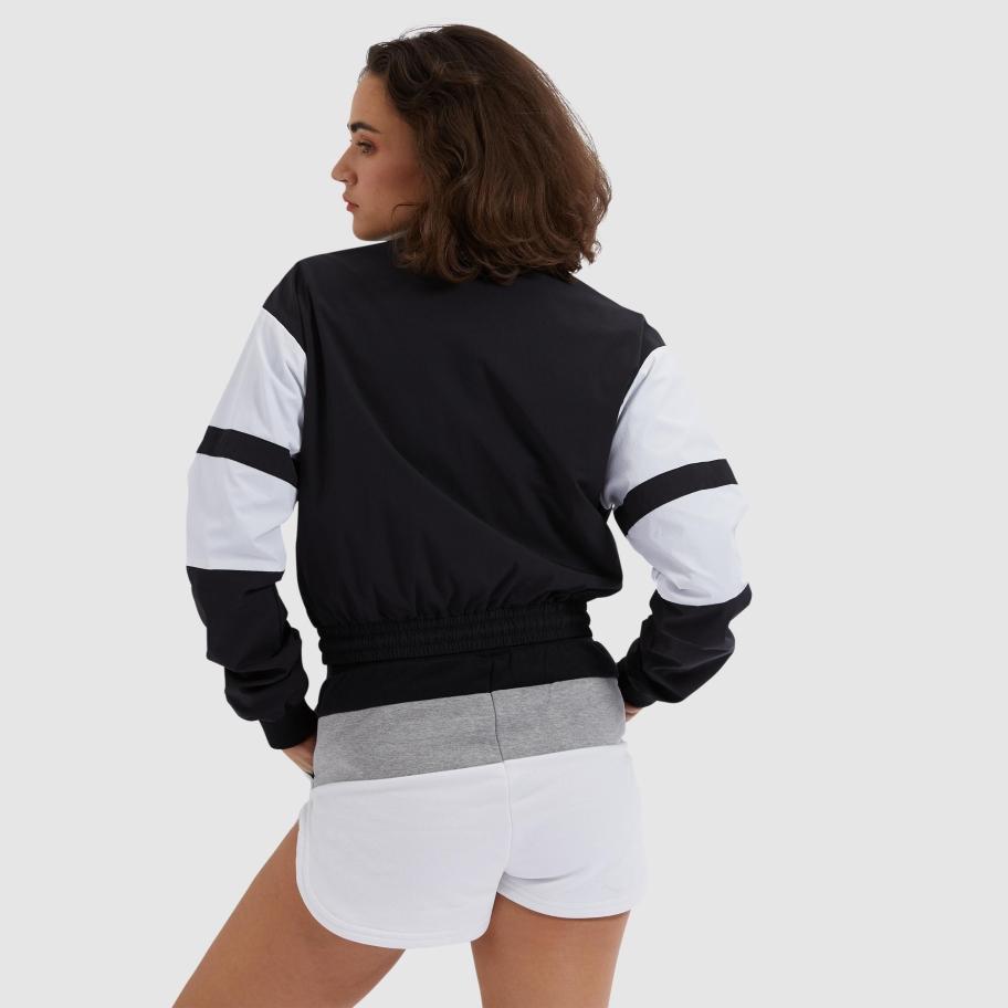 Ellesse Stephanie cropped jacket, black, x-small
