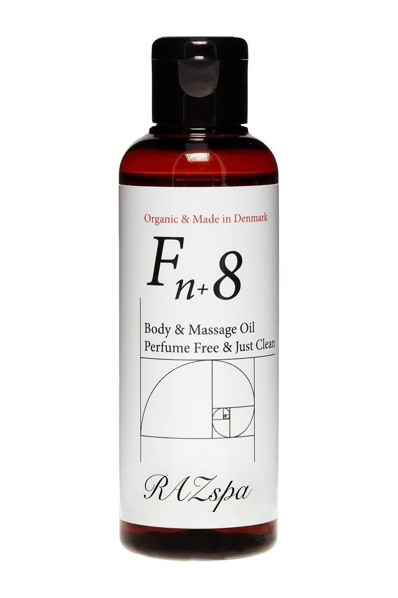 RAZspa Fn+8 Body & Massage Oil, 100 ml