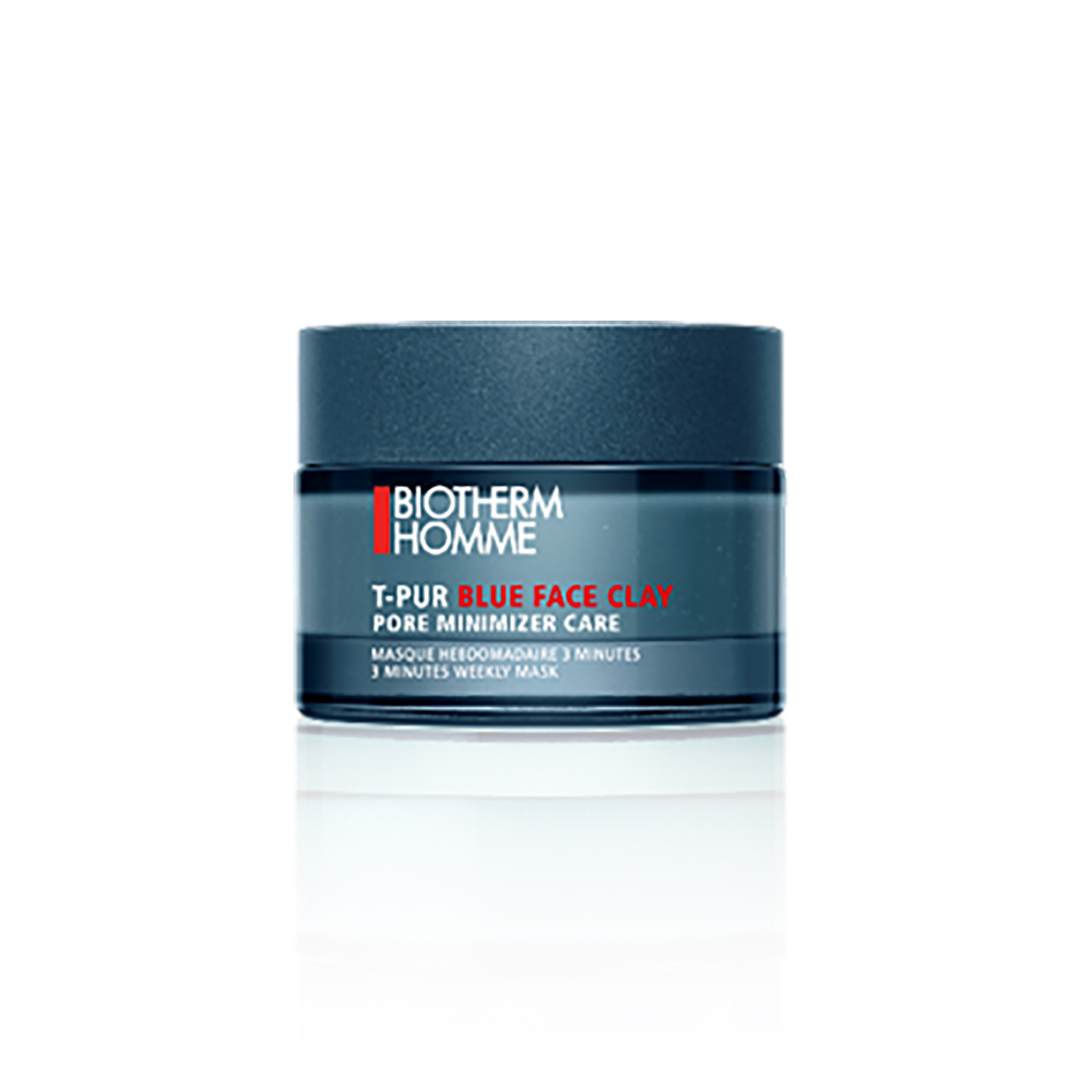Biotherm Homme T-Pur Blue Face Clay Mask, 50 ml