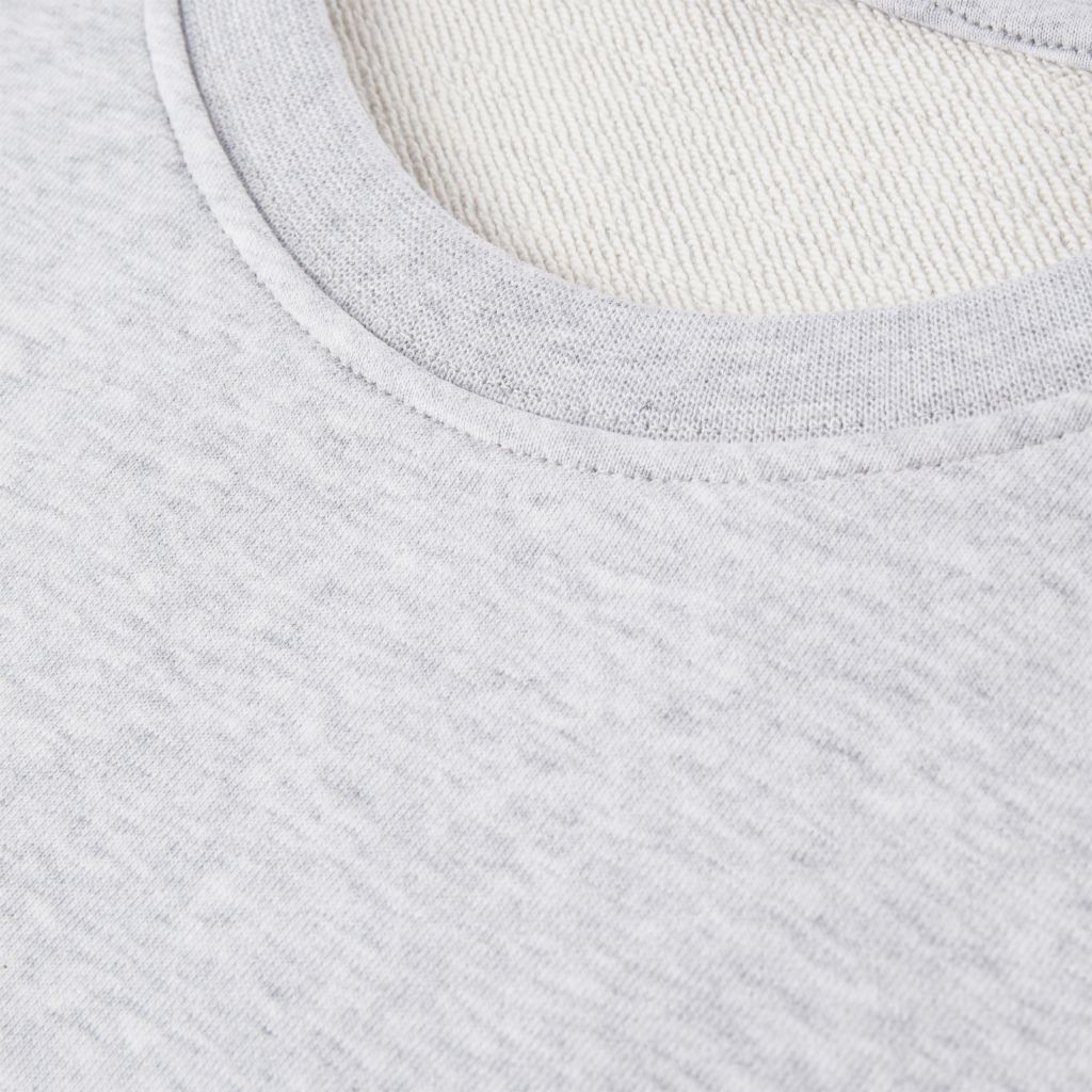 H2O Lind Logo Sweat O'Neck, grey melange, xx-small