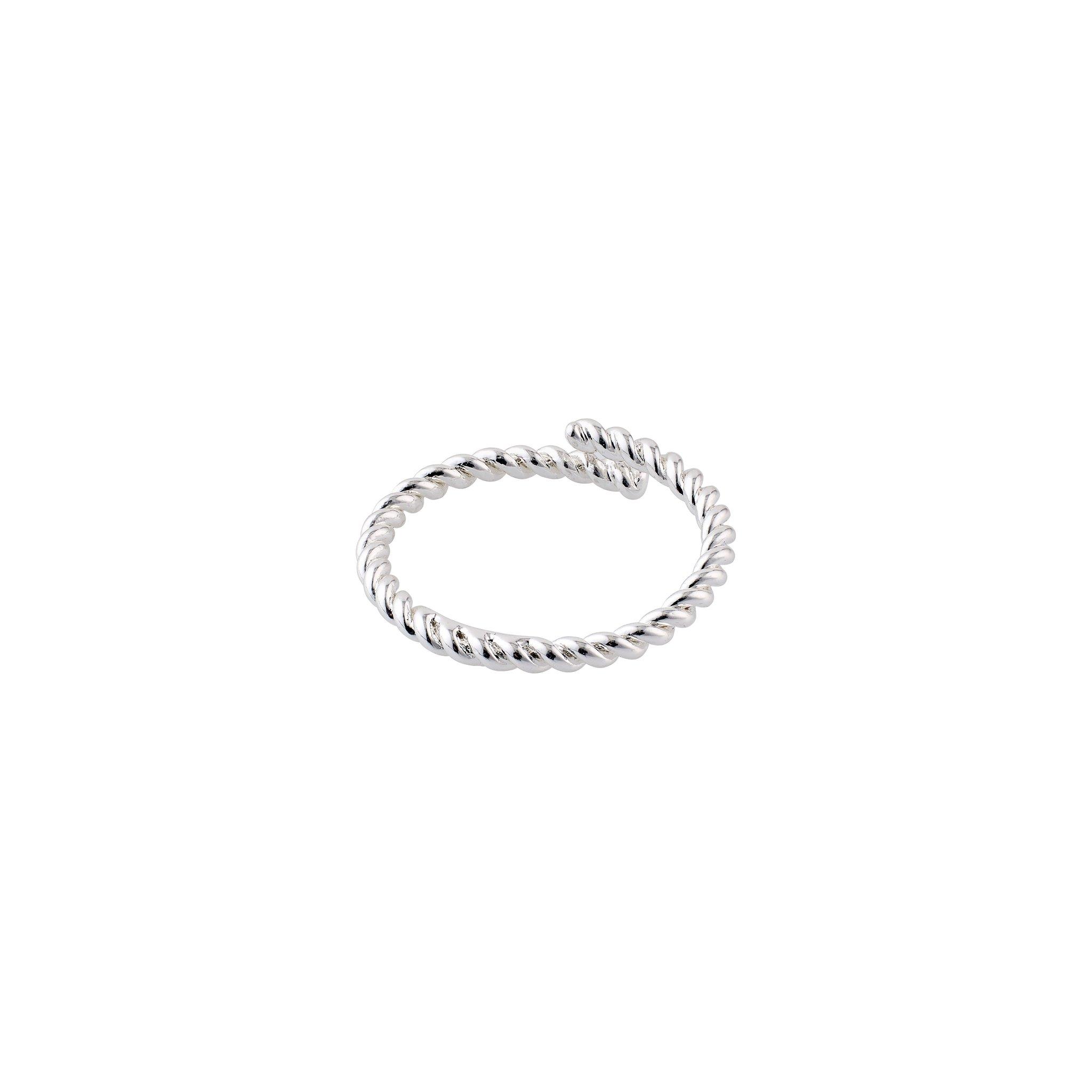 Pilgrim Lulu 4 ring, sølv