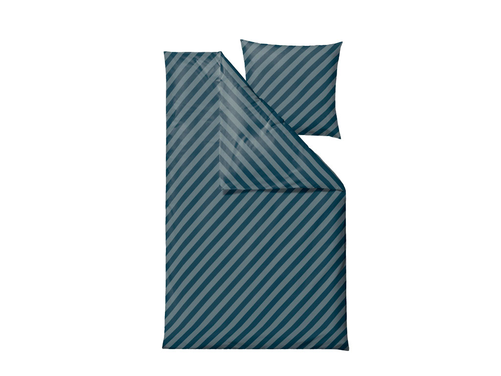 Södahl Diagonal sengelinned, 140x200 cm, atlantic