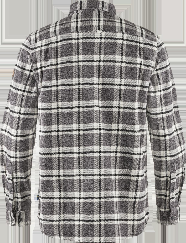 Fjällräven Övik Heavy Flannel Skjorte, Dark Grey, L