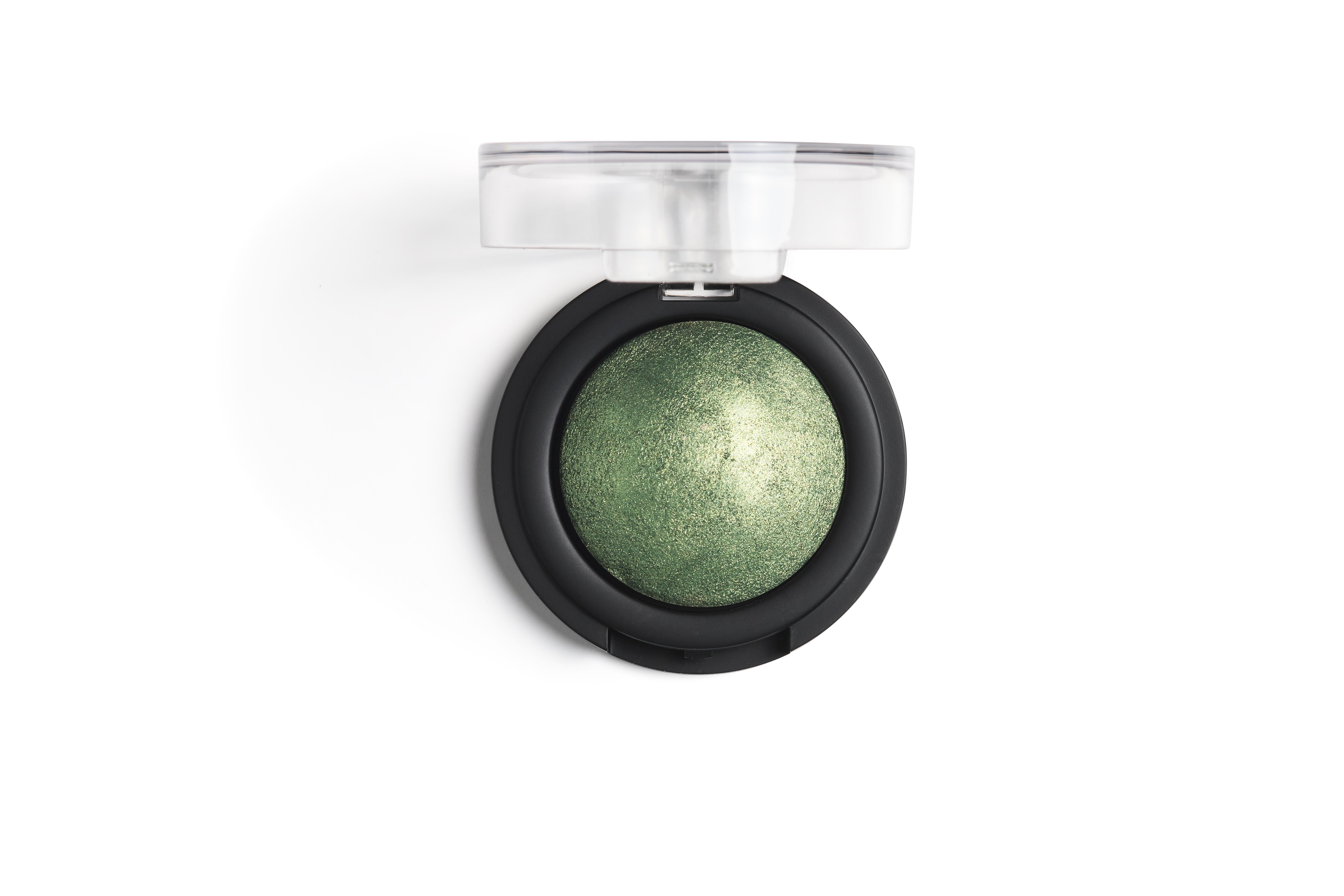 Nilens Jord Baked Mineral Eyeshadow, 6115 jade