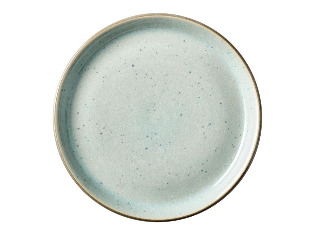 Bitz Gastro tallerken, Ø17 cm, grå/lyseblå