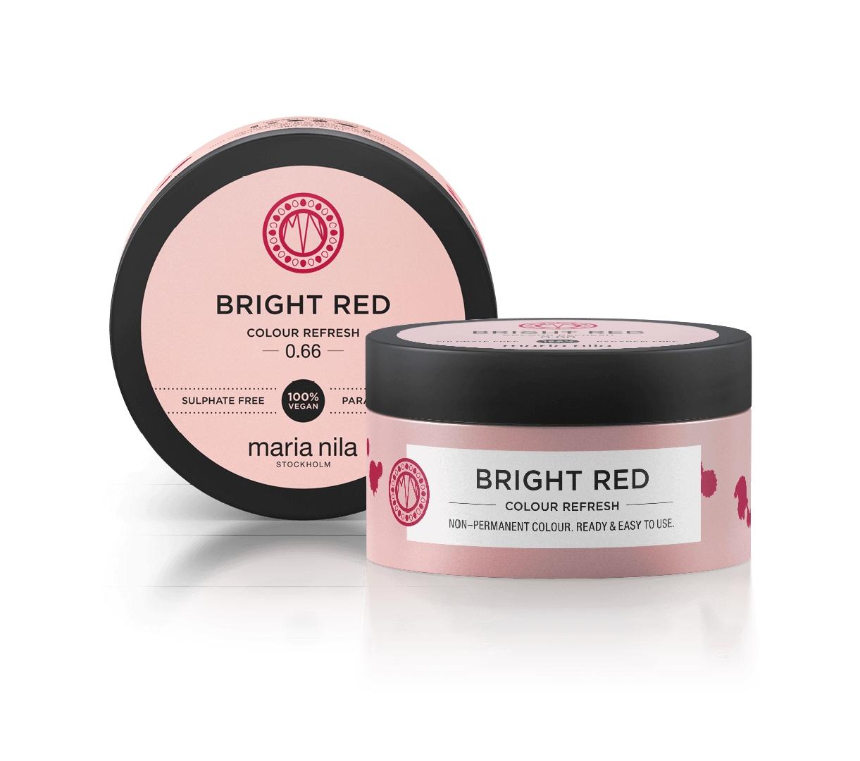 Maria Nila Colour Refresh, 0.66 bright red, 100 ml