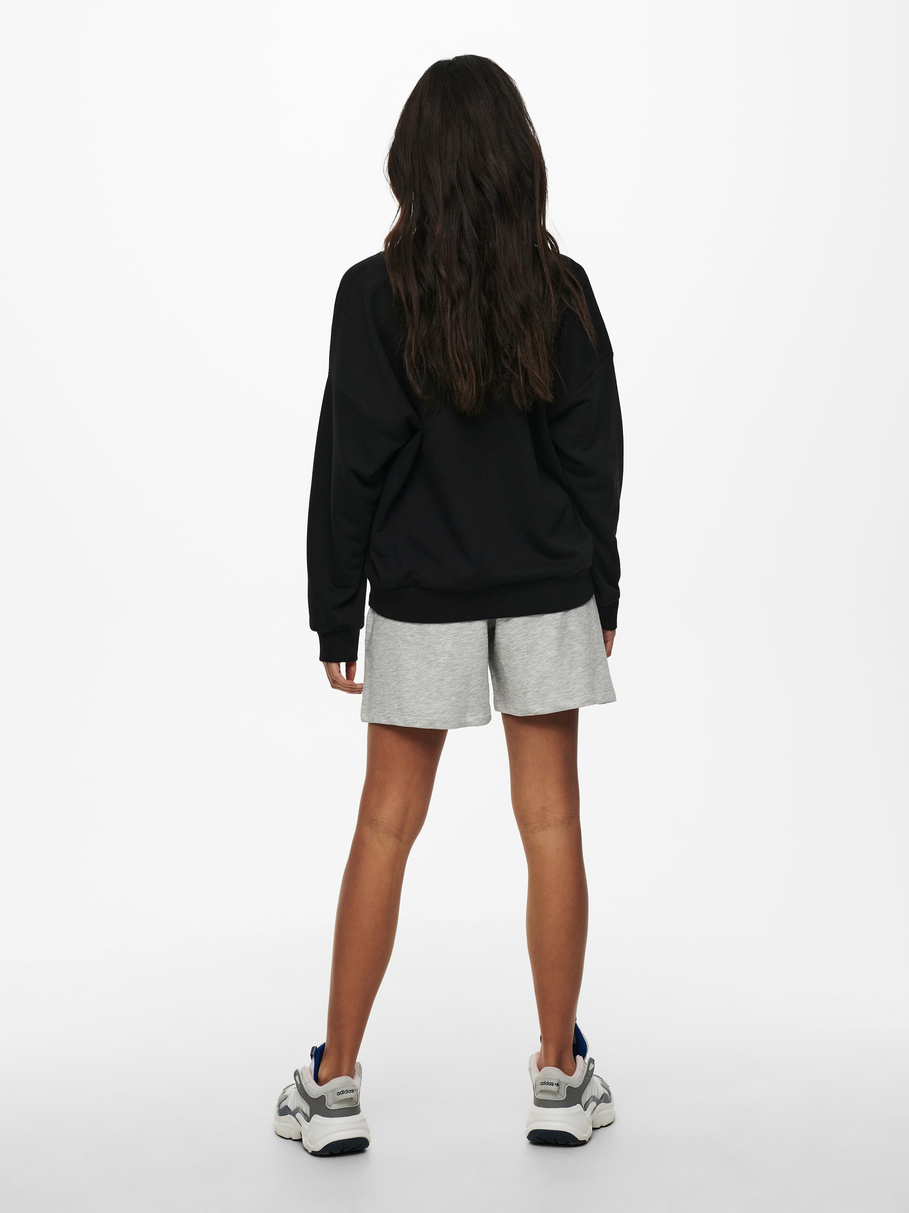 ONLY Kappi L/S sweatshirt, sort, XS