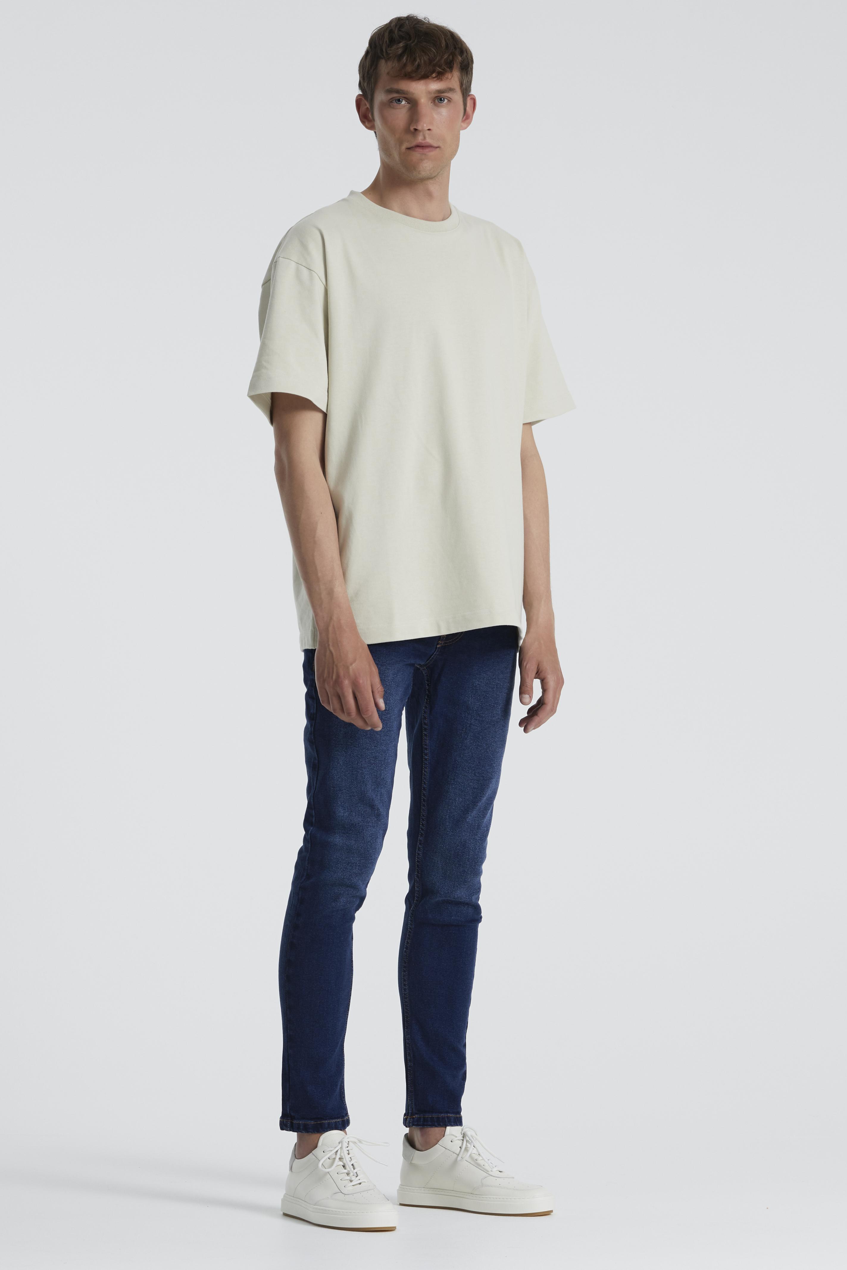 Denim Project Mr. Red Jeans, Dark Blue, W30/L32