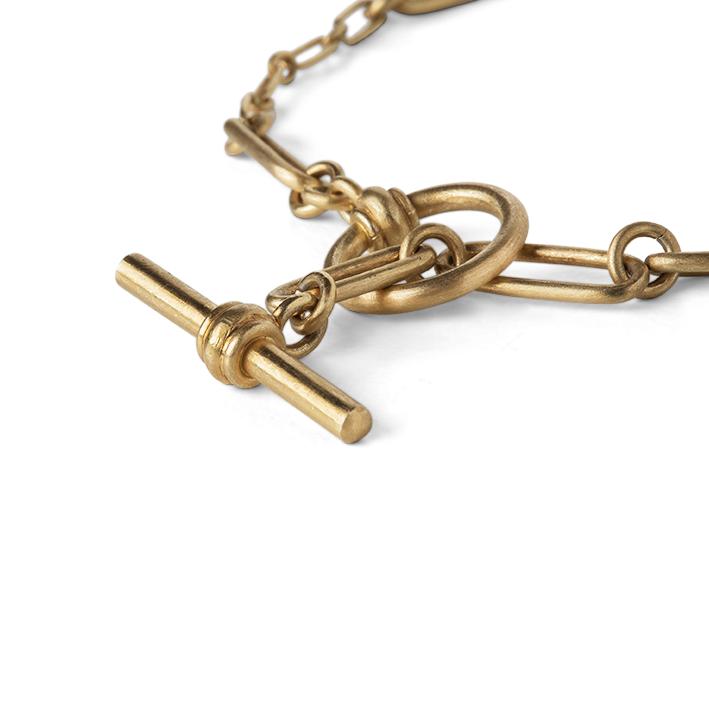 Jane Kønig Bridle armbånd, guld