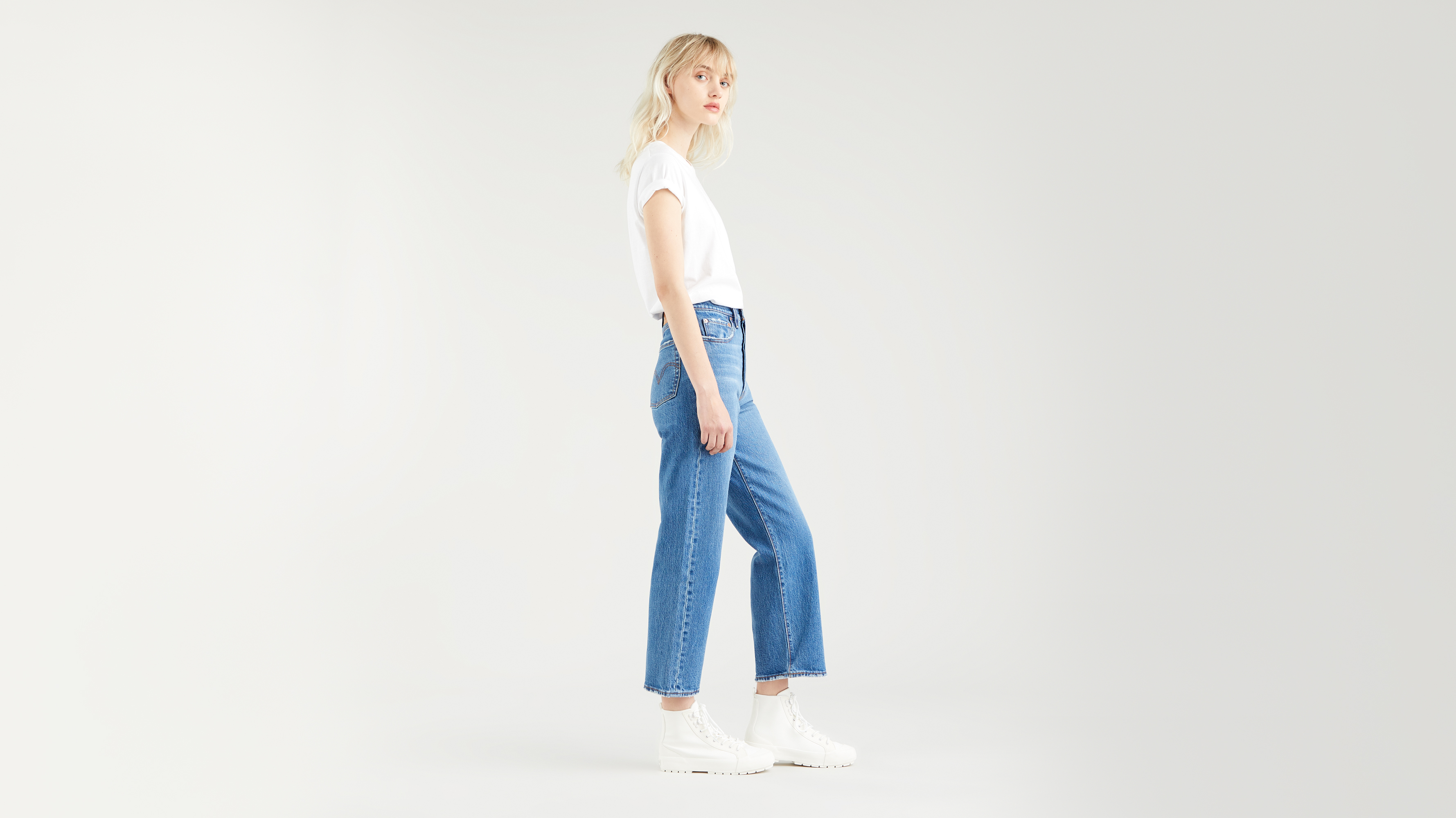 Levi's Ribcage Straight Ankle jeans, jive together, 29/29