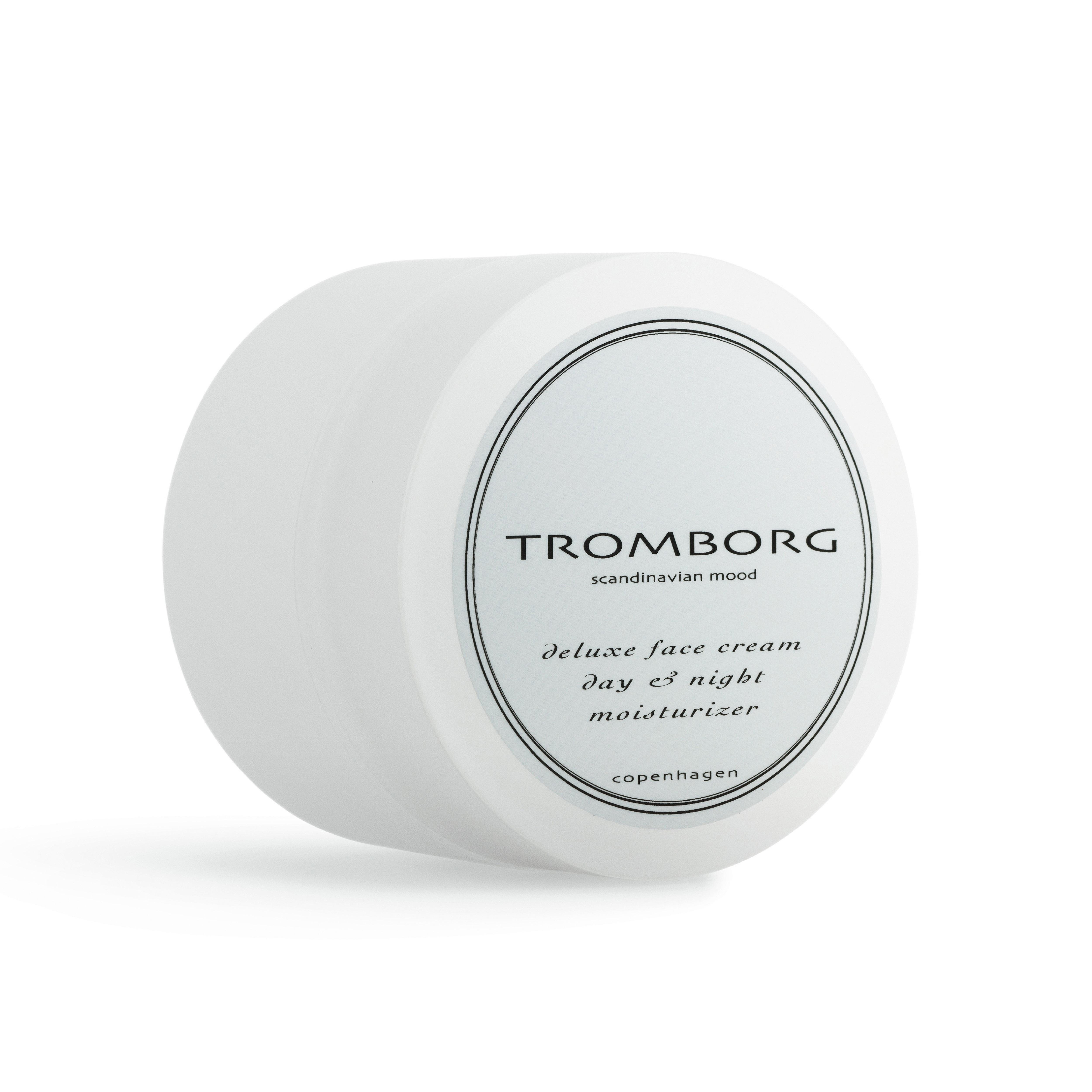 Tromborg Deluxe Face Cream Day & Night Moisturizer, 50 ml