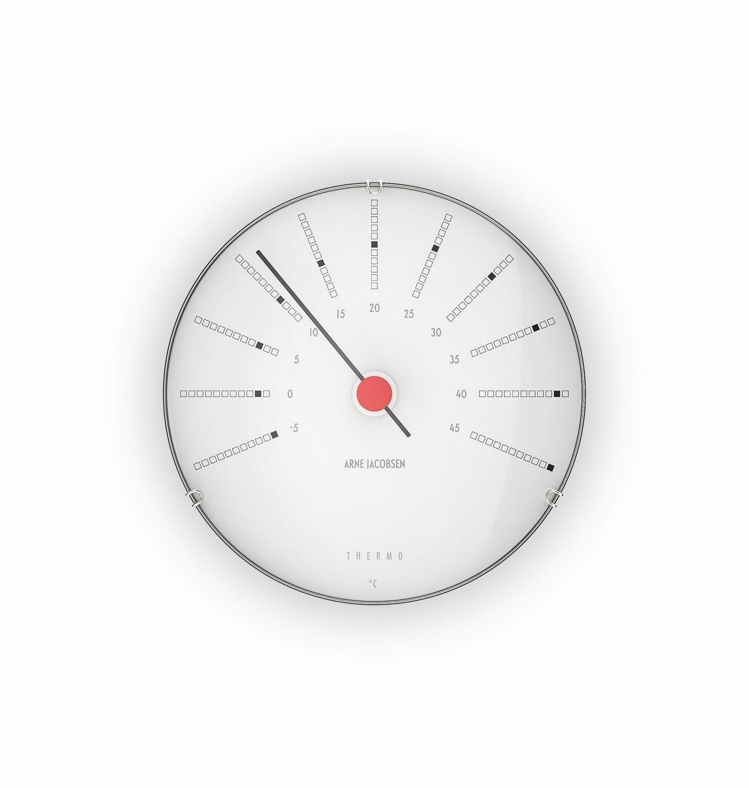 Arne Jacobsen Bankers vejrstation termometer