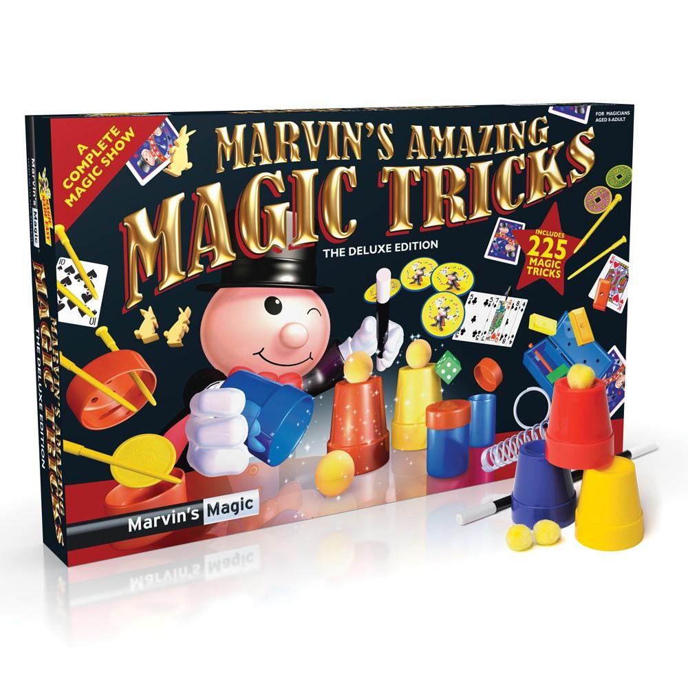 Marvins Magic tryllesæt med 225 tricks