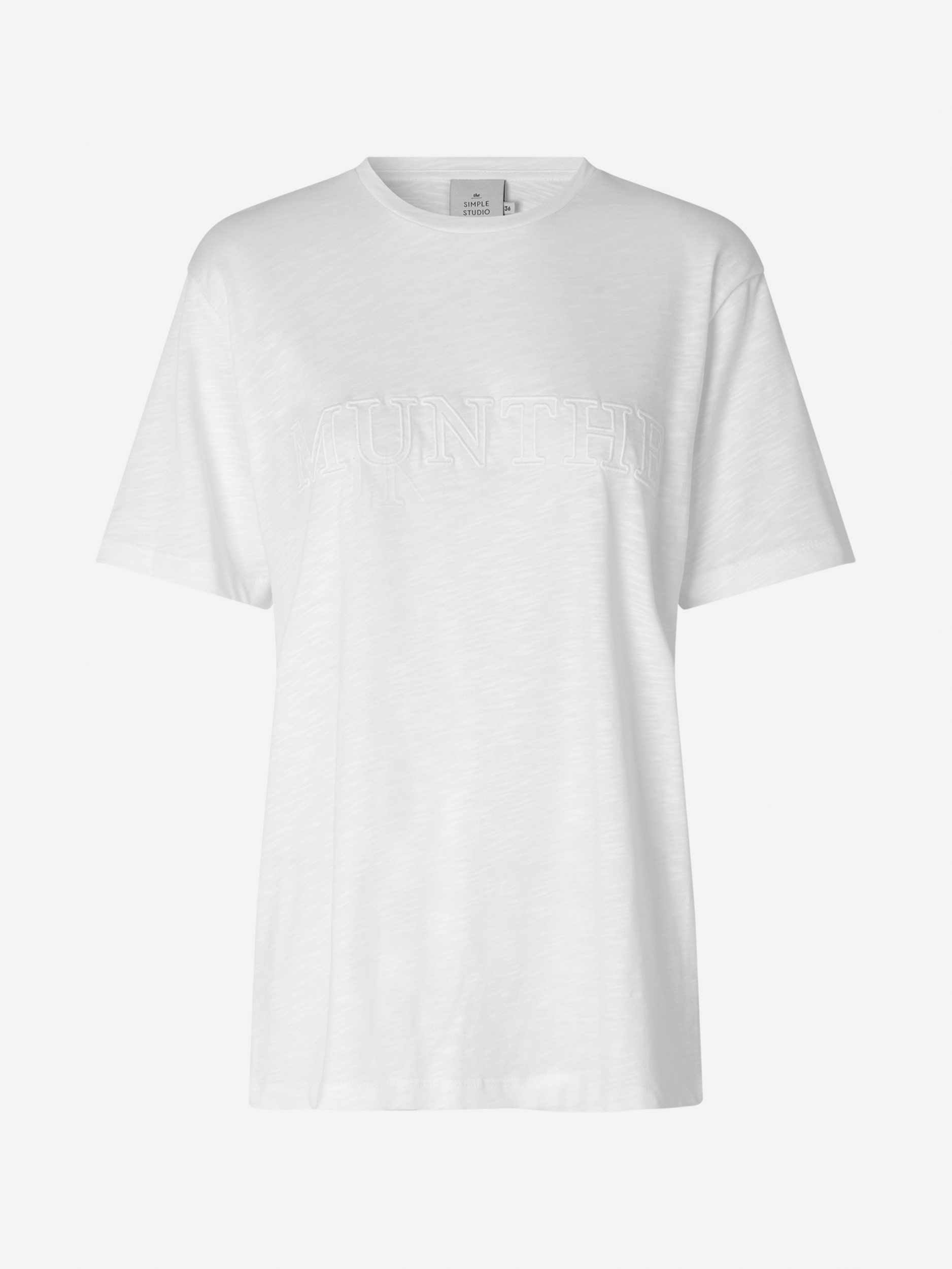 Munthe Pumpkin t-shirt, white, 34