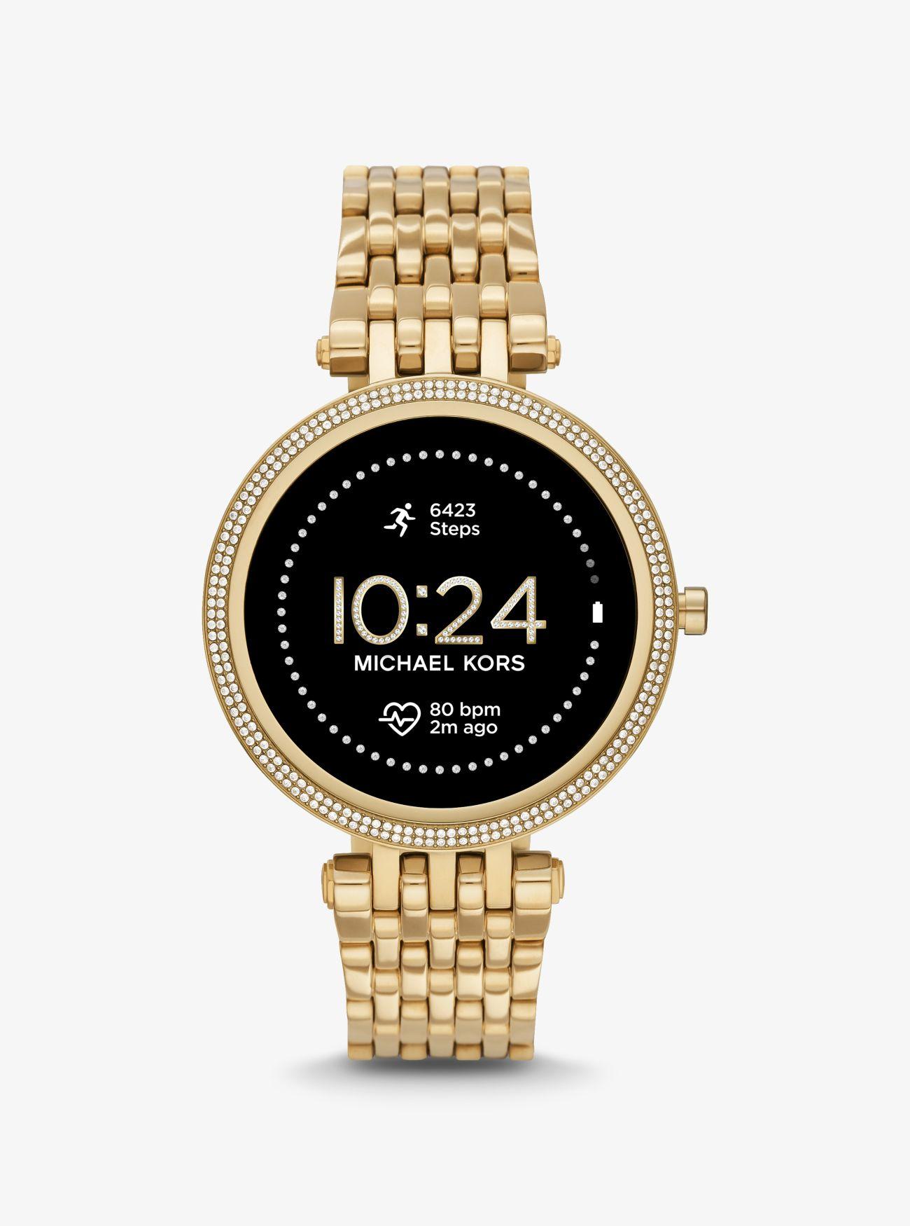 Michael Kors Darci Pavé Gen 5E Smartwatch