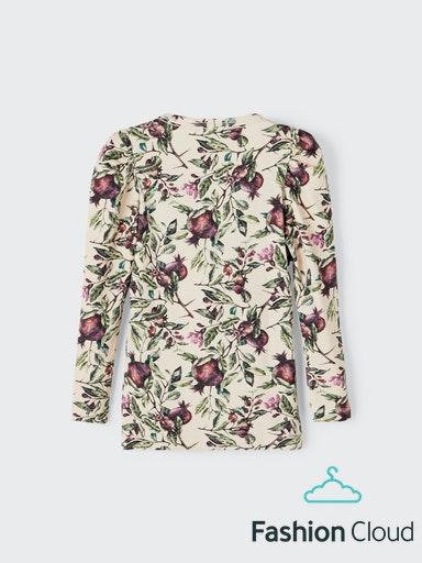 Name It Fonsy Langærmet T-shirt, Whisper Pink, 110 cm