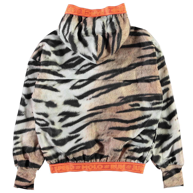 Molo Ophelia jacket, wild tiger, 110/116