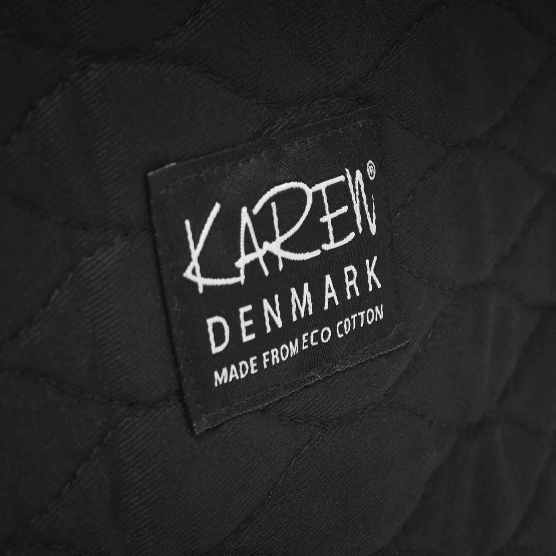 Karen 2-delt Toilettaske, sort