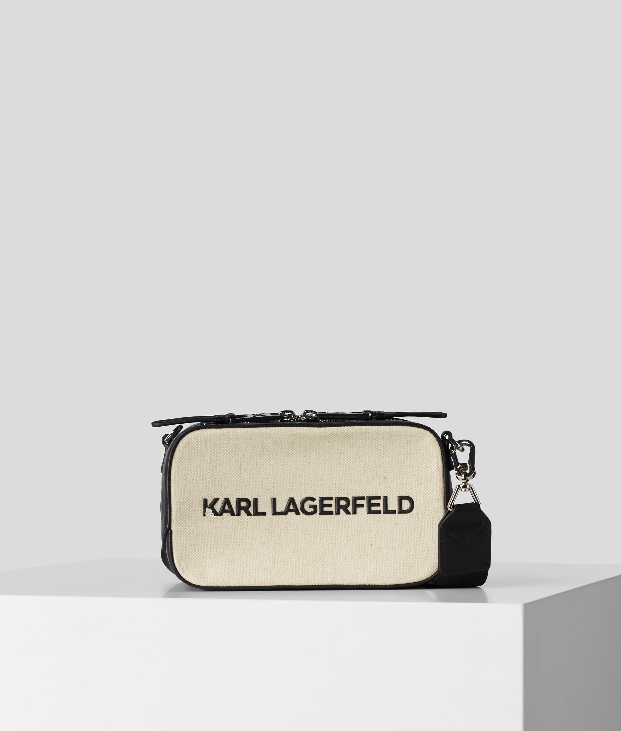 Karl Lagerfeld Skuare Canvas Camera crossover