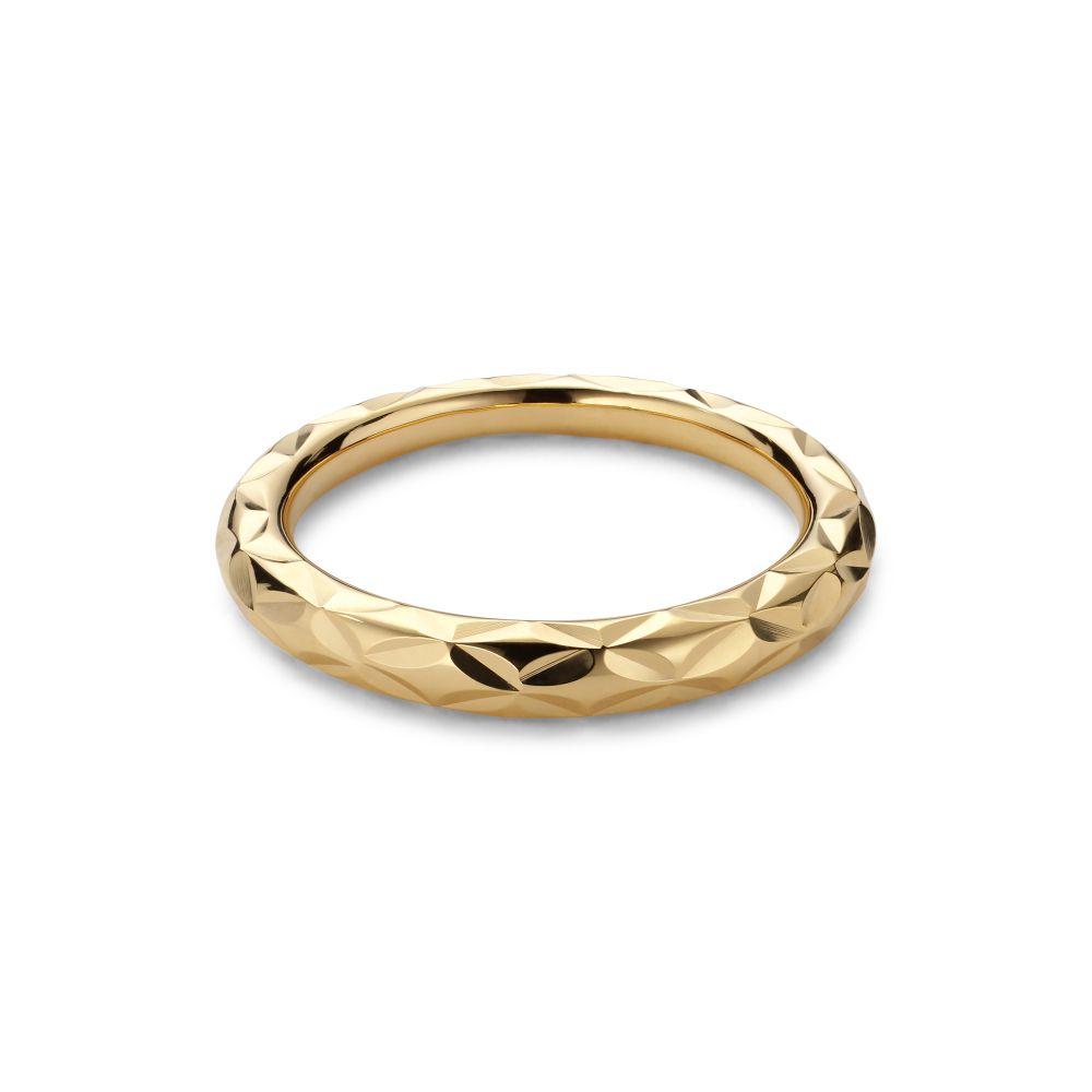 Jane Kønig Impression ring, guld, 56