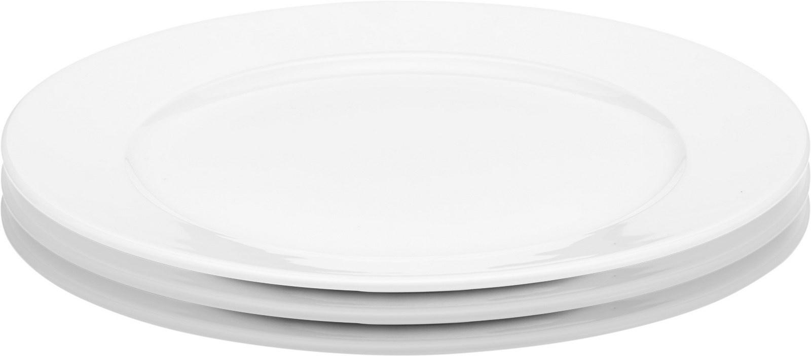 Pillivuyt Sancerre frokosttallerken, Ø22 cm, 3 stk