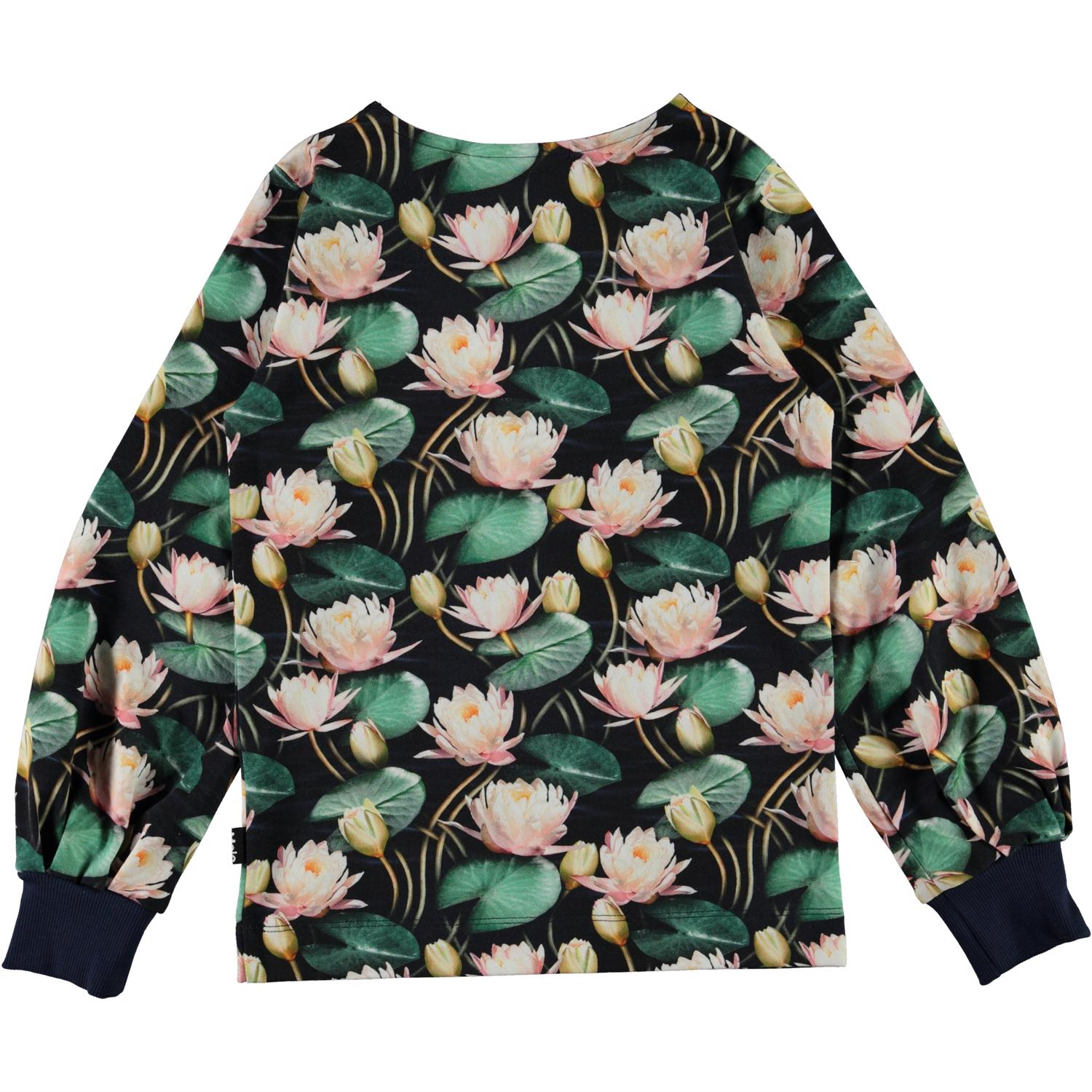 Molo Rylee bluse, water lilies, 122