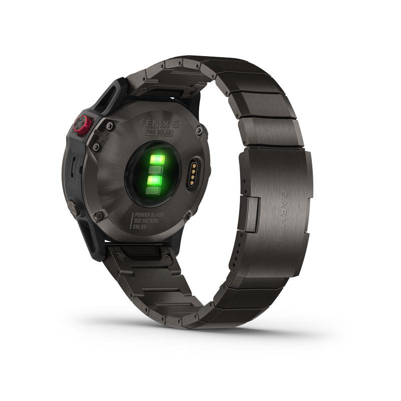 Garmin Fēnix 6S Pro Solar, Black