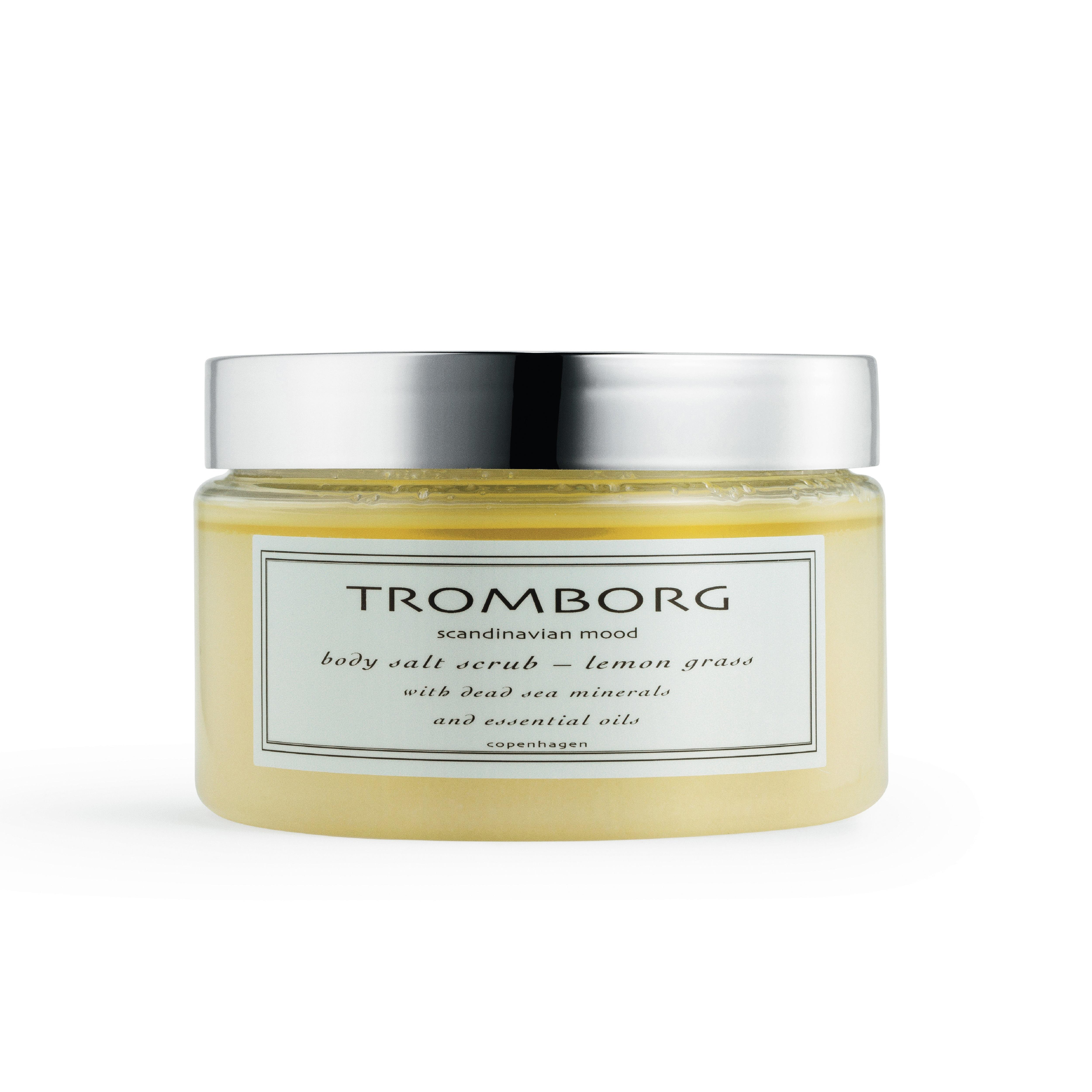 Tromborg Body Salt Scrub, lemon grass, 350 ml