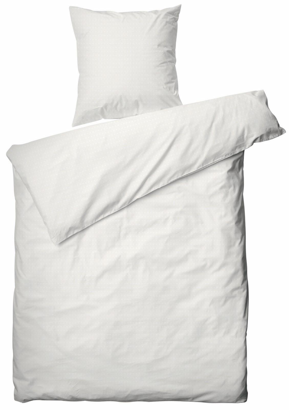 Juna Cube sengelinned, 140x200 cm, hvid