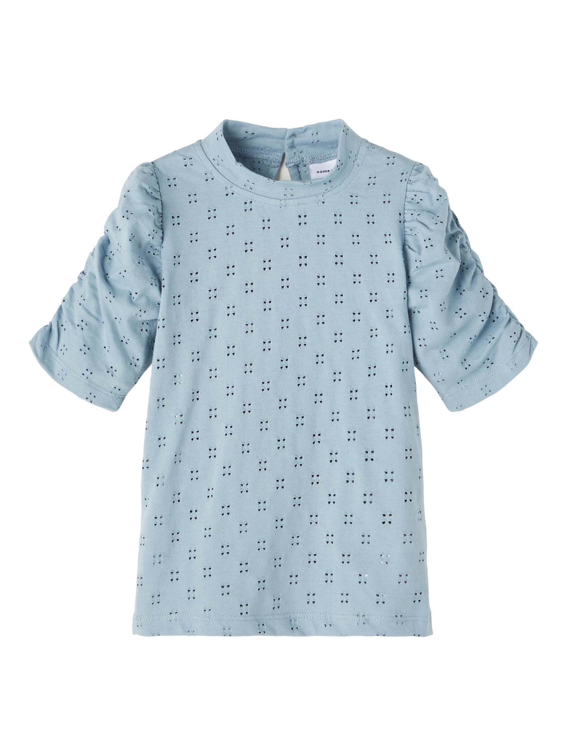 Name It Hafrun top, dusty blue, 146-152
