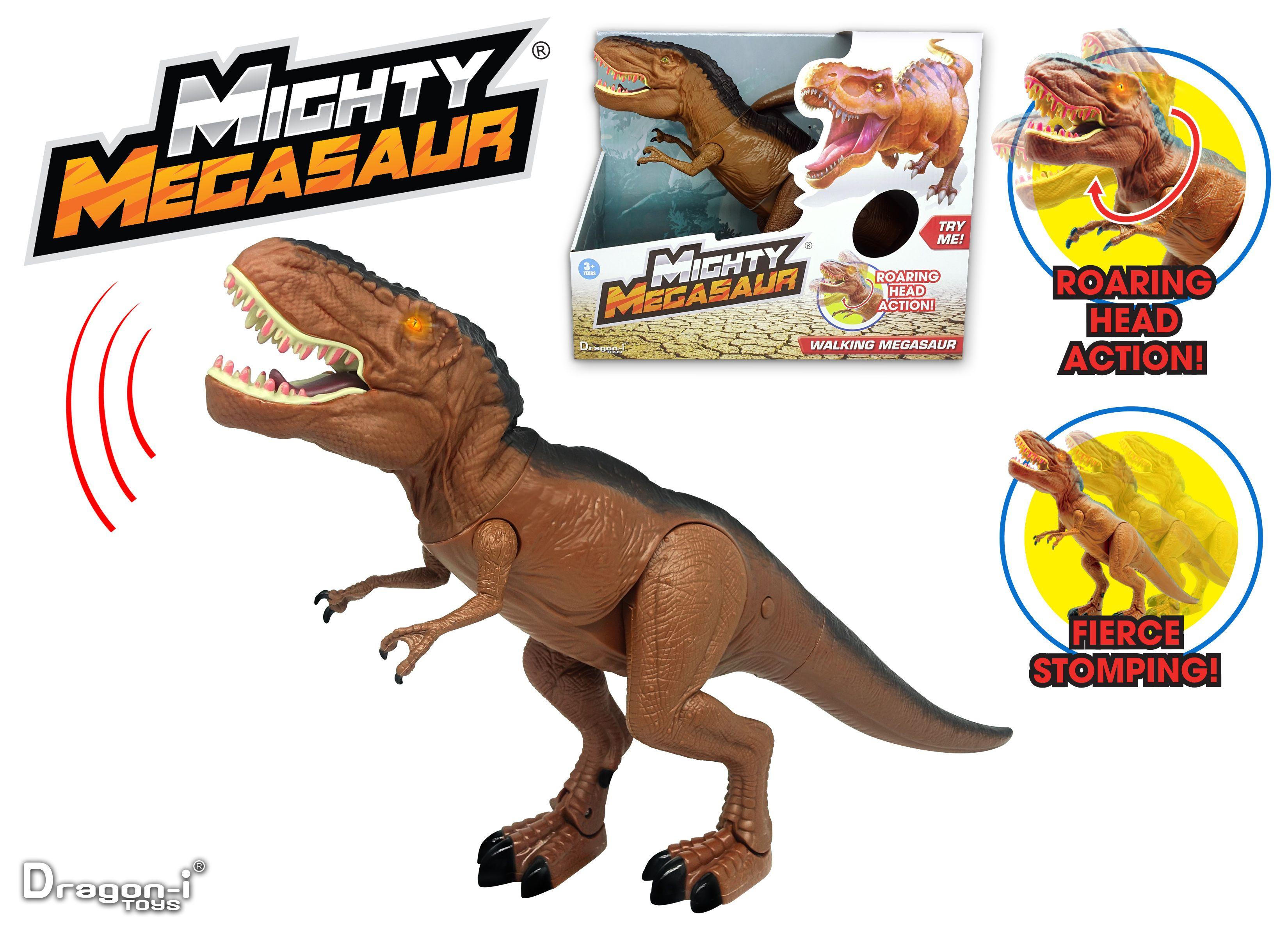 Mighty Megasaur Gående T-Rex