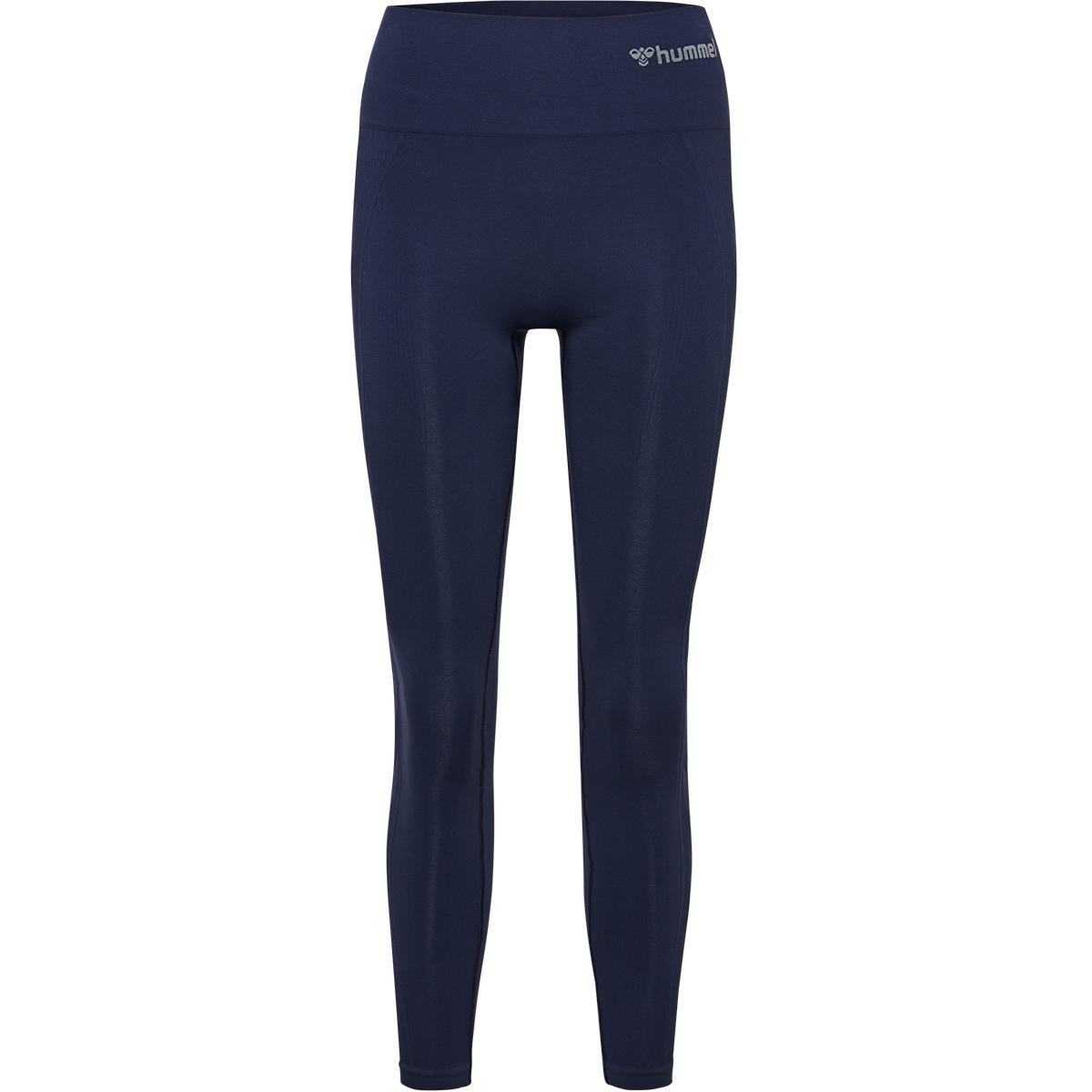Hummel High Waist Seamless tights, marineblå, x-large/xx-large
