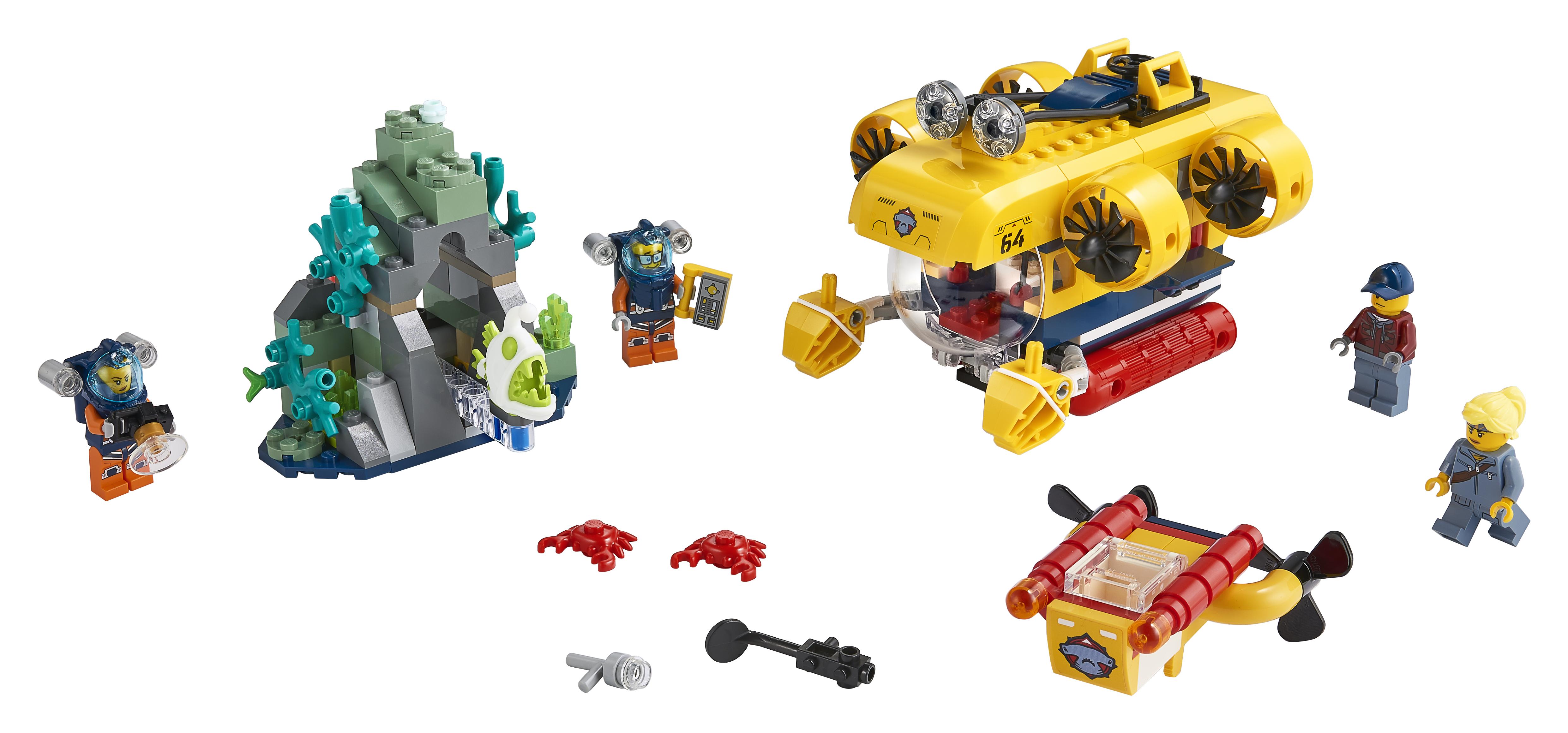 LEGO City Havudforsknings-ubåd - 60264