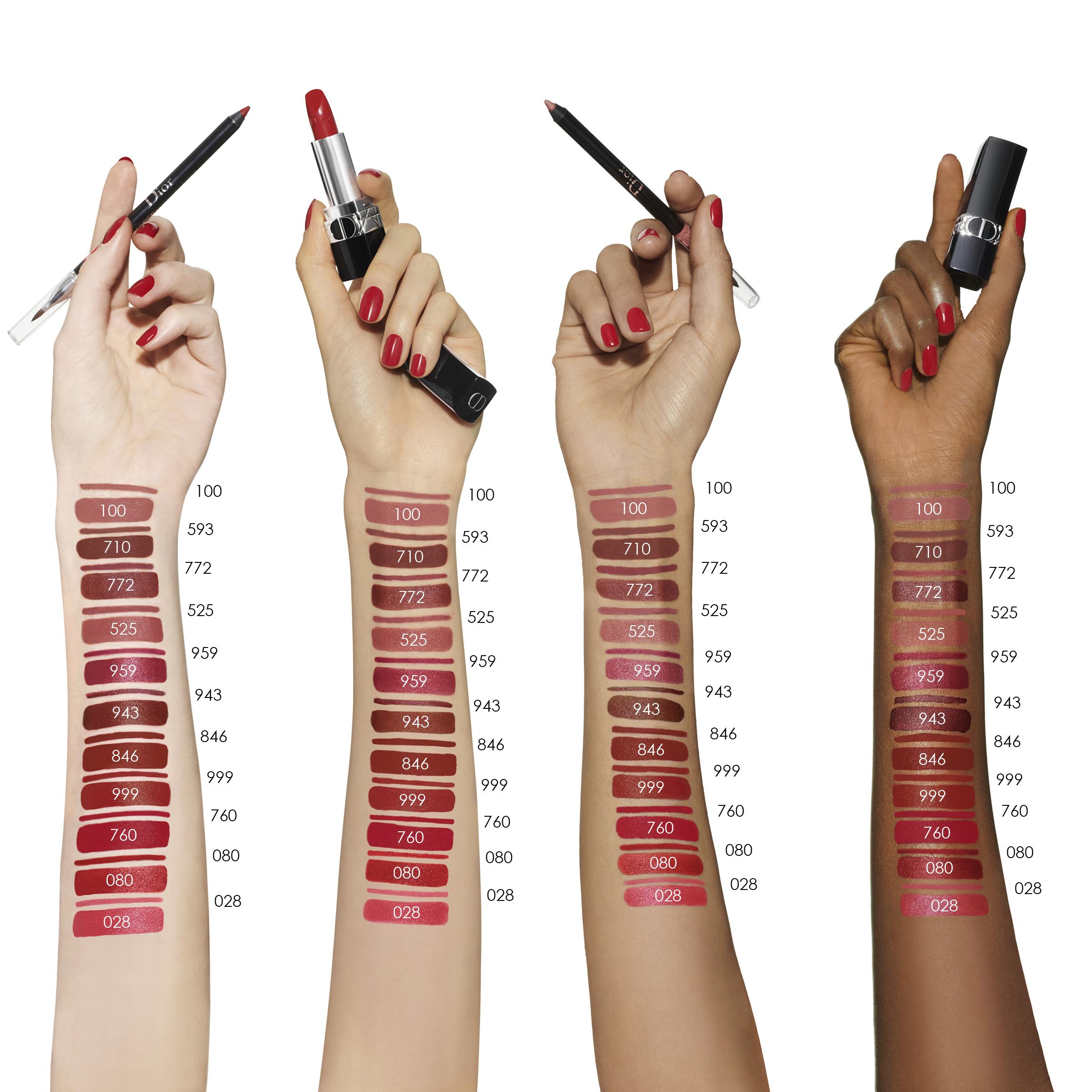 DIOR Rouge Dior Refillable Satin Lipstick, 219 rose montaigne