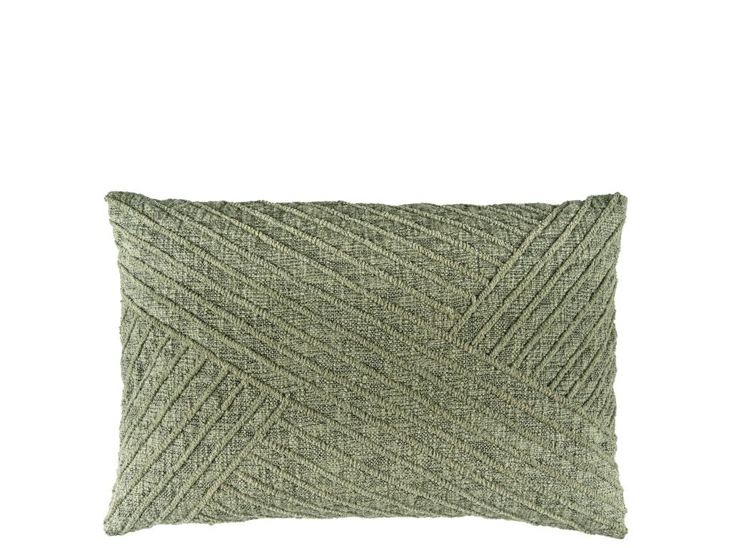 Södahl Diagonal pude, 40x60 cm, khaki