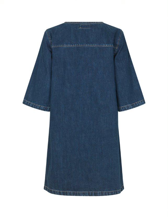 Global Funk Maiza kjole, dark blue, M
