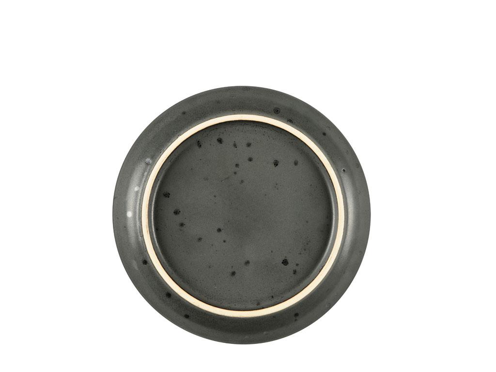 Bitz Gastro tallerken, Ø17 cm, sort/amber
