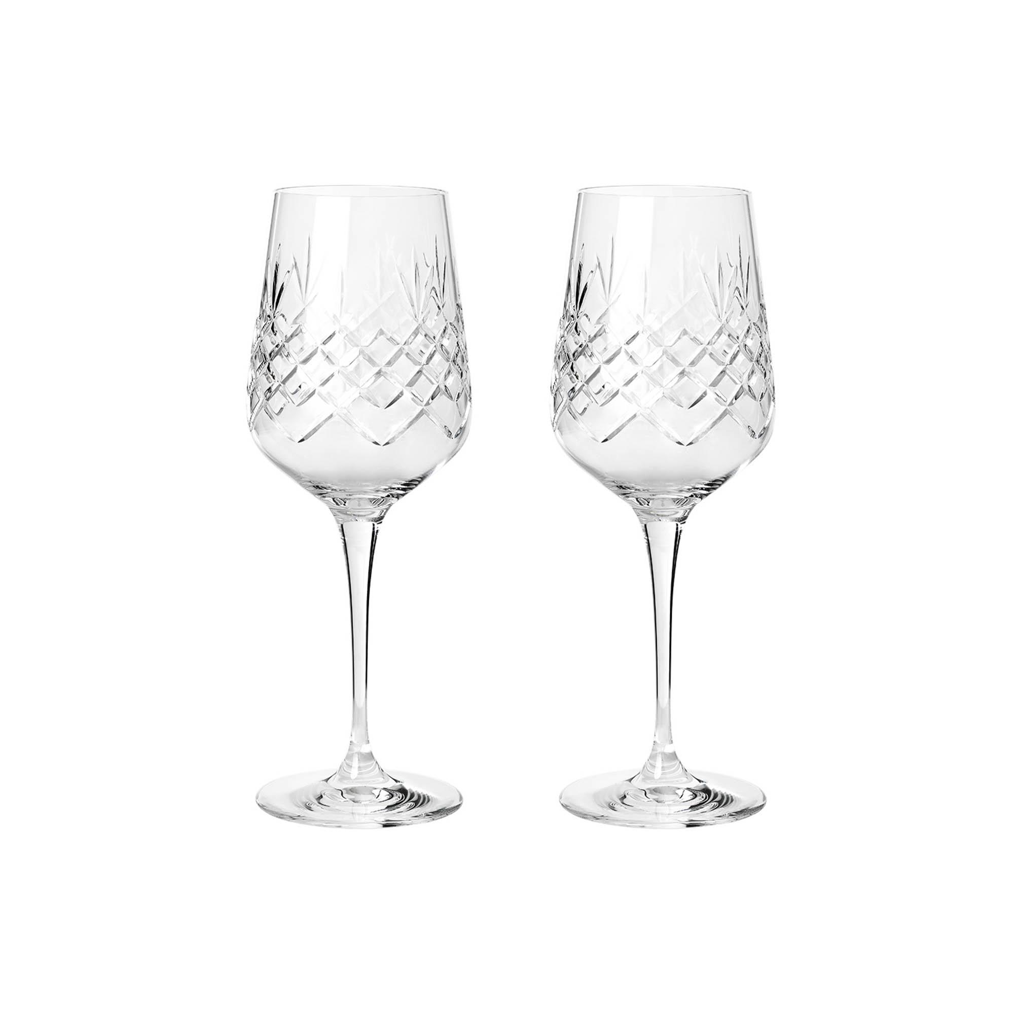 Frederik Bagger Crispy Madame hvidvinsglas, 2 stk