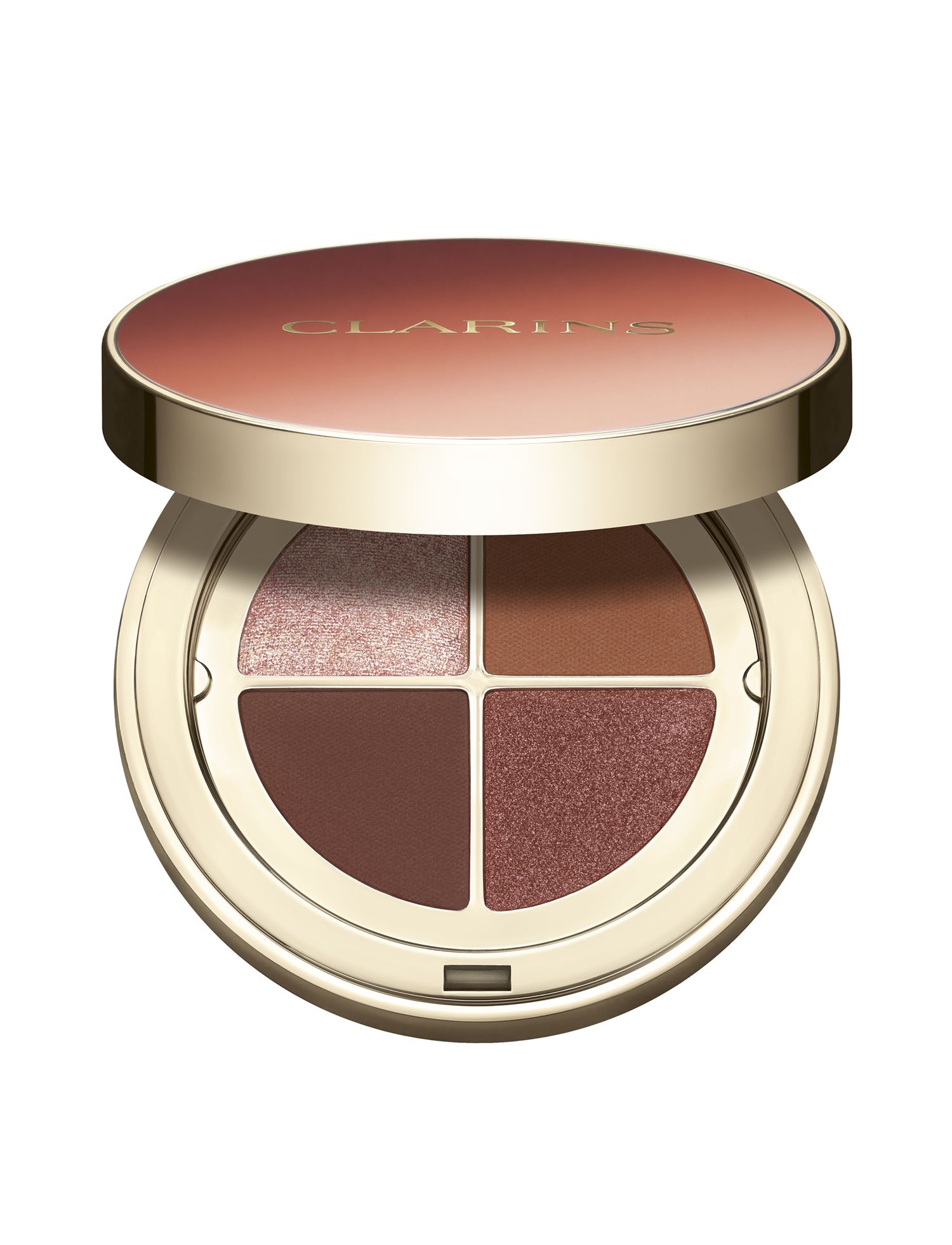 Clarins 4-Colour Eyeshadow Palette, 03 flame