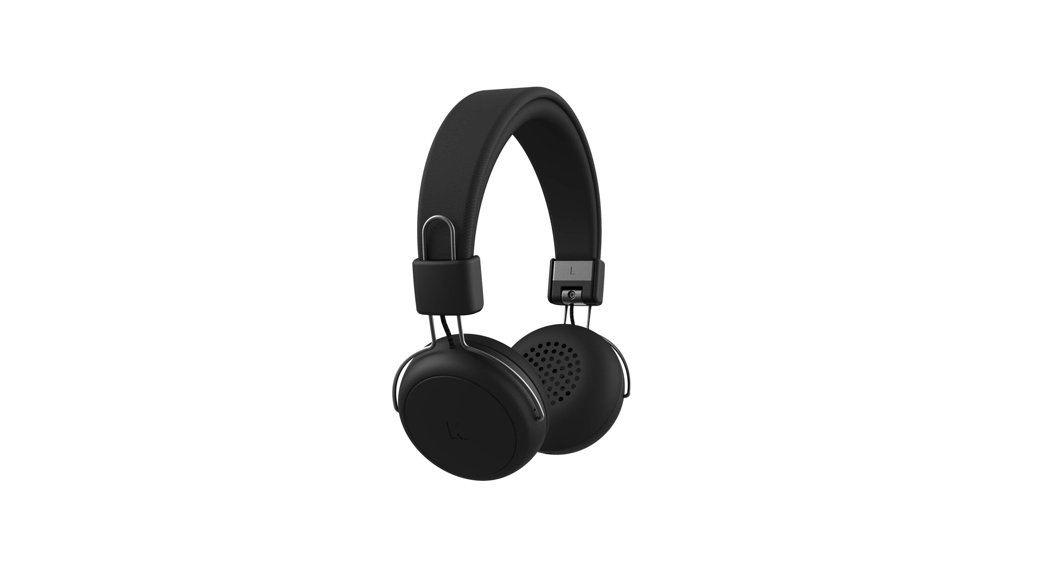 Kreafunk aWear bluetooth høretelefoner, black edition