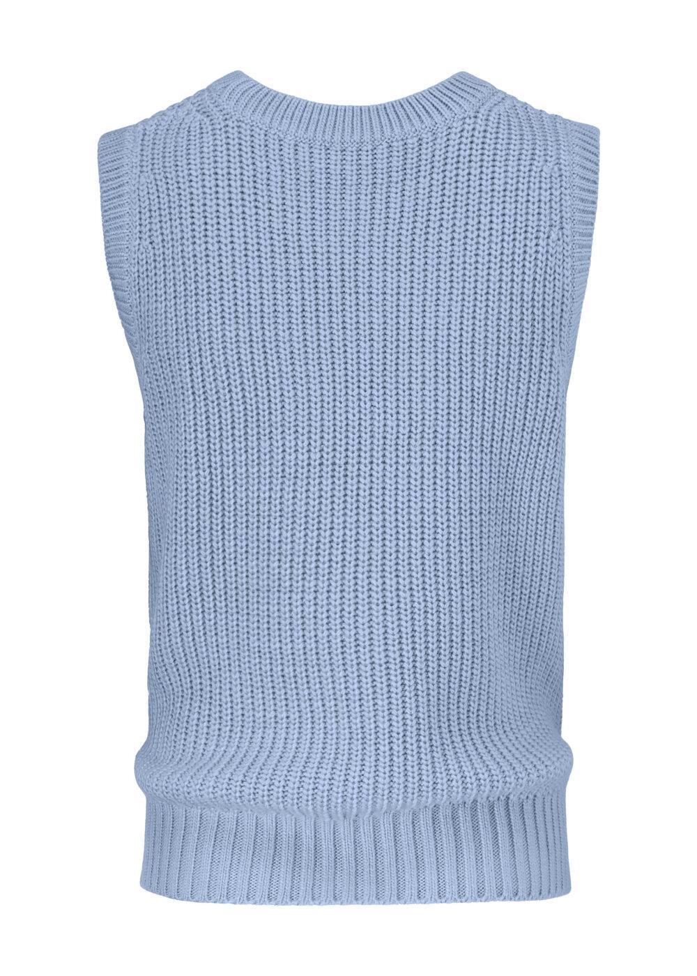 Modström Timme vest, blue wash, large