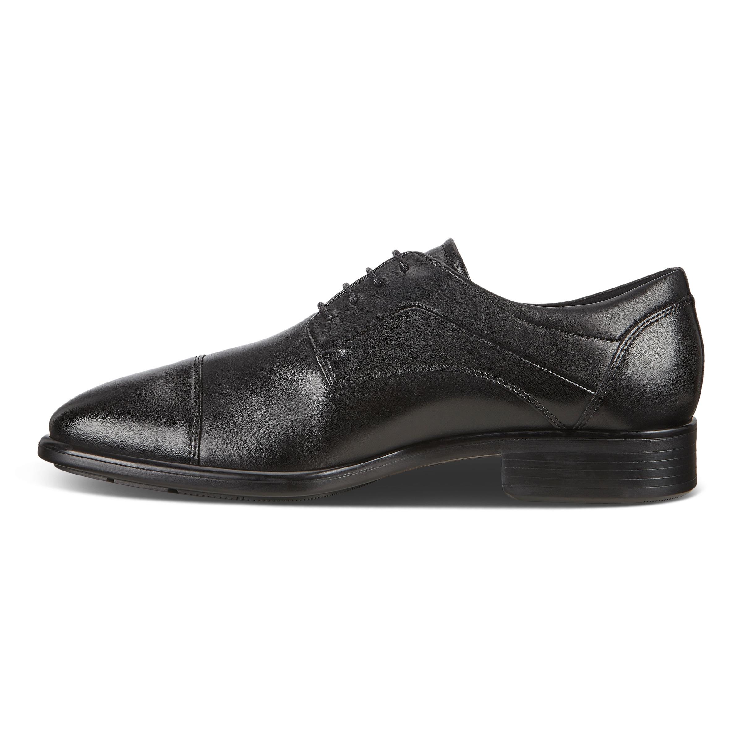 Ecco Citytray Oxford sko, black, 44